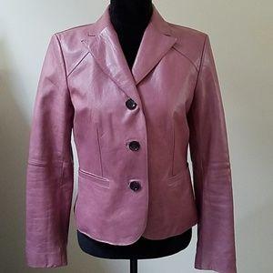 🎉🔥Ann Taylor genuine 100% leather jacket